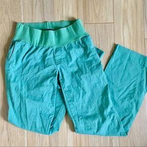 GAP [4 TALL] maternity pants aqua